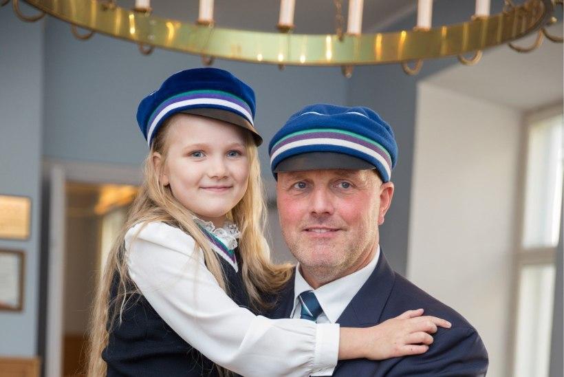 FOTO | Juss Haasma imearmas tütar on tänasest koolilaps
