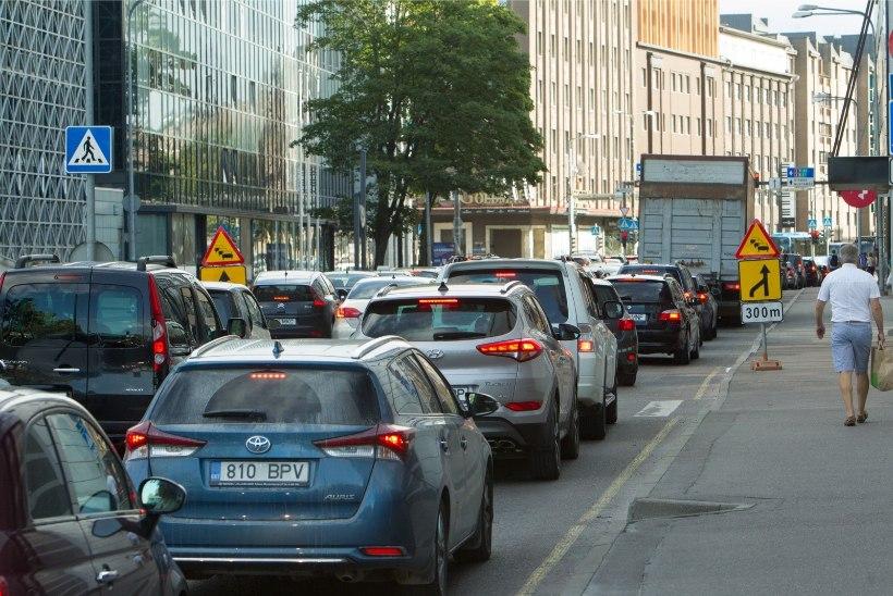 Uued teetööd lisavad liikluspiiranguid