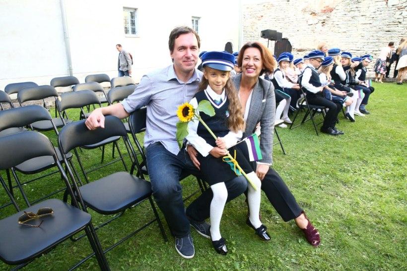 Oksana Tandit tütre kooliminekust: nutnud ta ei ole, see on põhiline