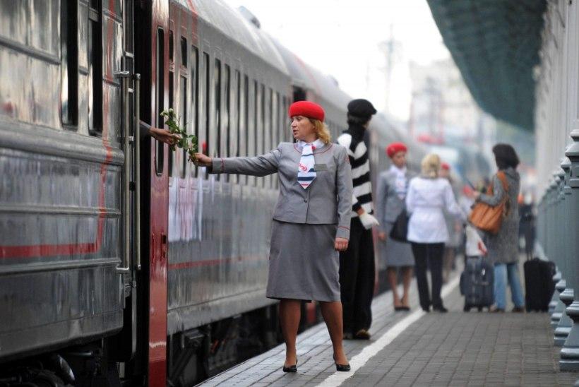 VANA IDEE SOOJENDATI ÜLES: rongiga Londonist Tokyosse