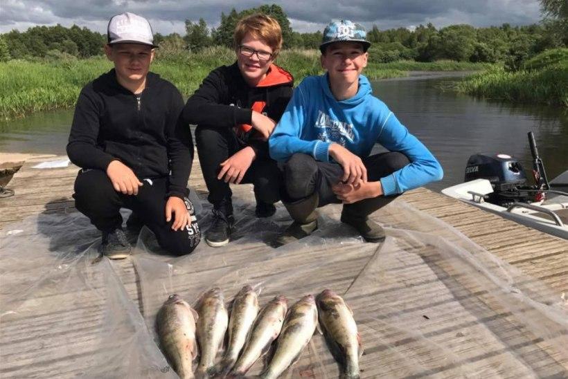 Kus õpivad lapsed kala püüdma: kalastusringid üle Eesti
