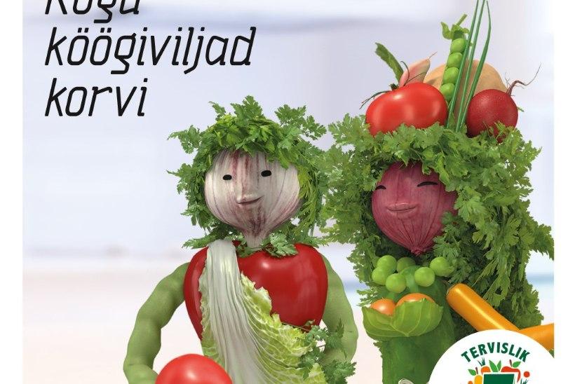 Tervise Arengu Instituut tuletab meelde köögiviljade söömise vajalikkust