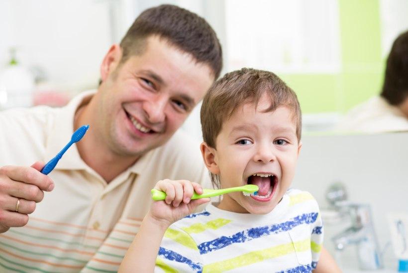 Laste hammaste tervis sõltub vanemate teadlikkusest