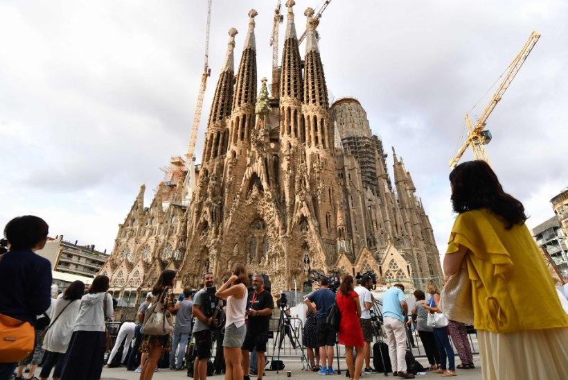 Barcelona kirikust evakueeriti inimesed