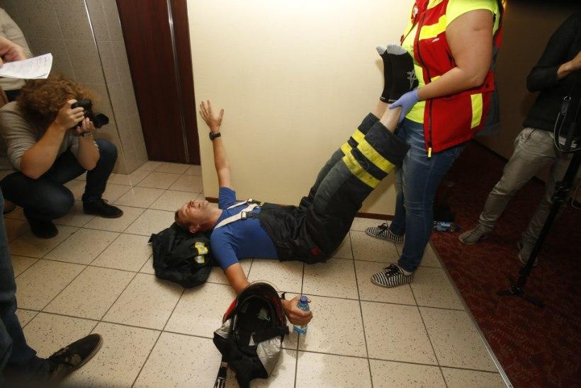 Raivo E. Tamm pärast trepijooksu: kümme viimast korrust rebisin end käsipuud pidi üles