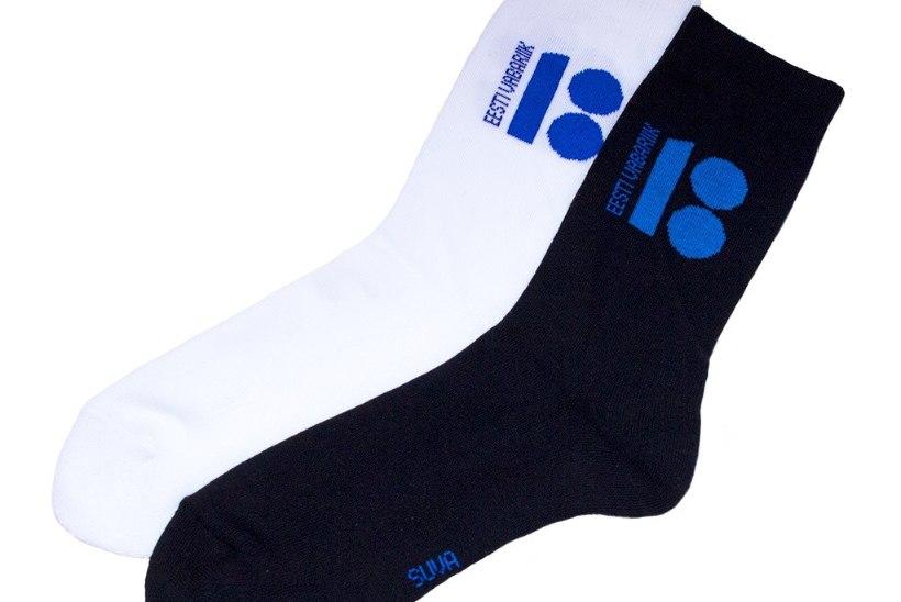 Suva sokivabrik annetab EV100 kujundusega sokkidega müügist osa raha jälgimismonitoride ostmiseks