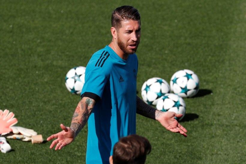 Unusta raseeritud jalad ja suured tätoveeringud - just see on Sergio Ramose tõeline fetiš