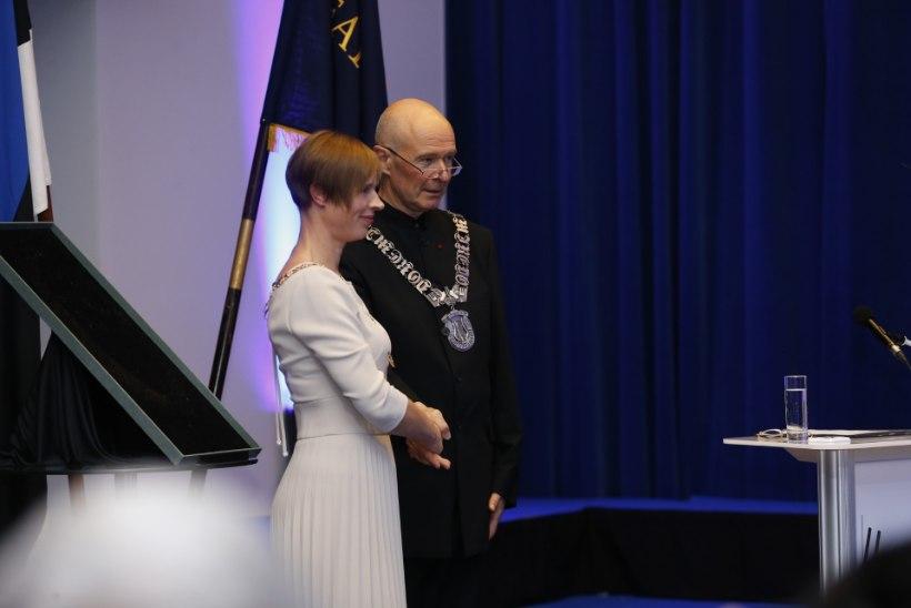 GALERII | EMTA uus rektor Ivari Ilja vannutati ametisse