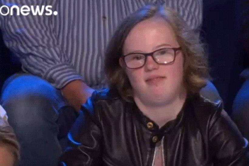 Downi sündroomiga neiu esitas Merkelile otse-eetris äärmiselt tundliku küsimuse