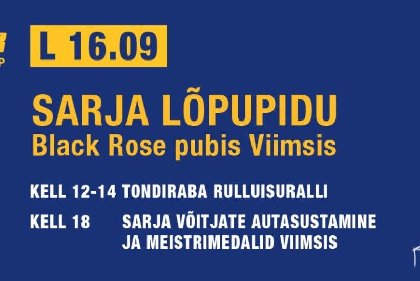 Tule rulluisutama ja people! 16. septembril toimub Rullituuri hooaja lõpuüritus - Tondiraba Rulluisuralli!