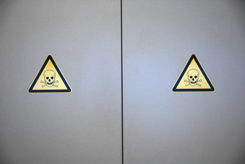 Tööinspektsioon avastas hulgaliselt rikkumisi kemikaalide kasutamisel