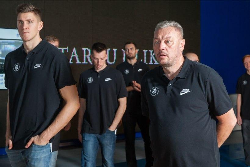 GALERII | Tutvu uute nägudega: Tartu korvpallimeeskond esitles uue hooaja koosseisu