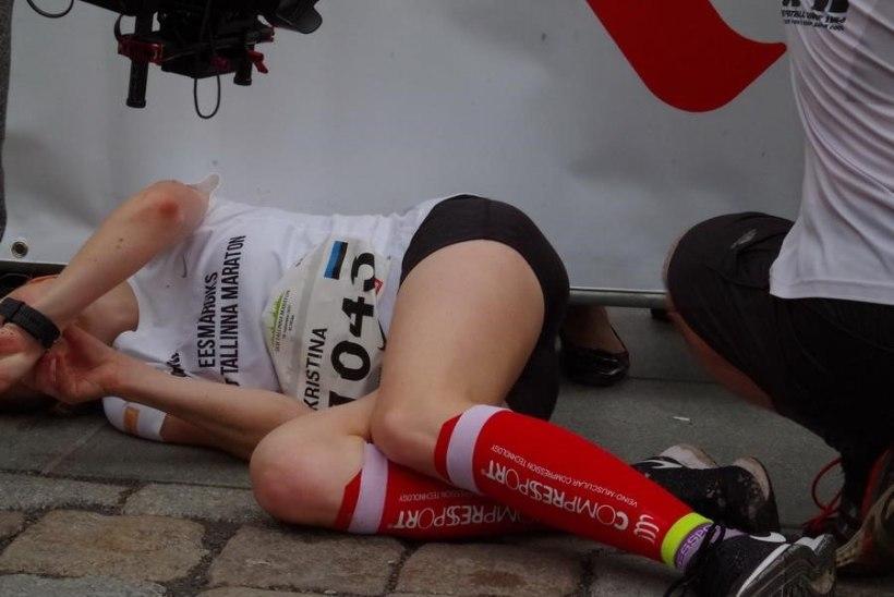 """""""Nelja tunniga ei saa mina voodistki välja, rääkimata maratonist!"""""""