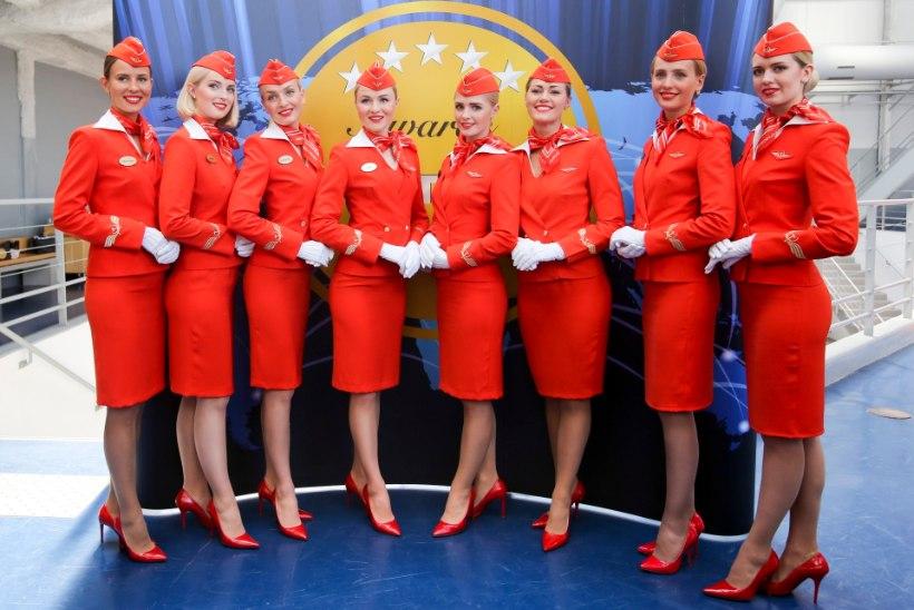Aerofloti stjuardess: mu palk seoti rõivanumbri suurusega