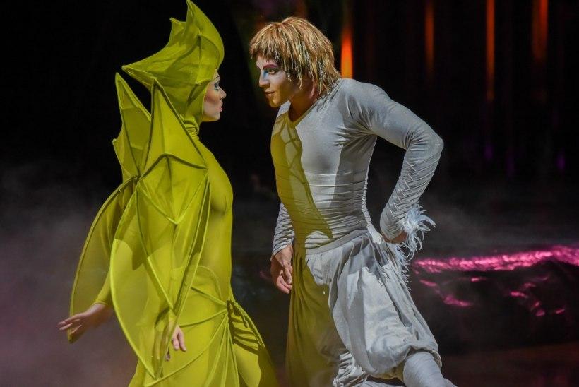 ÕHTULEHE VIDEO   Cirque du Soleil' meeskond veab endaga kaasas üle 2000 kostüümielemendi