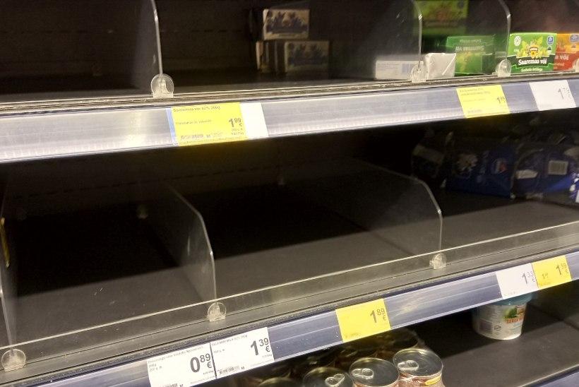 Võipaanikaks pole põhjust, toidu hinnad tõusevad nagunii
