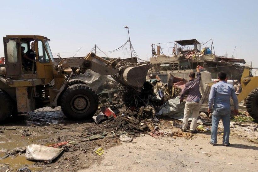 Iraagis hukkus enesetapurünnakus ja autopommi plahvatuses vähemalt 50 inimest