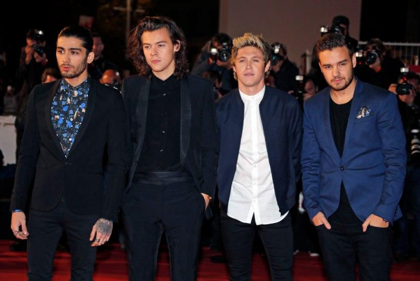One Directioni tähtede vahel valitses vihavaen