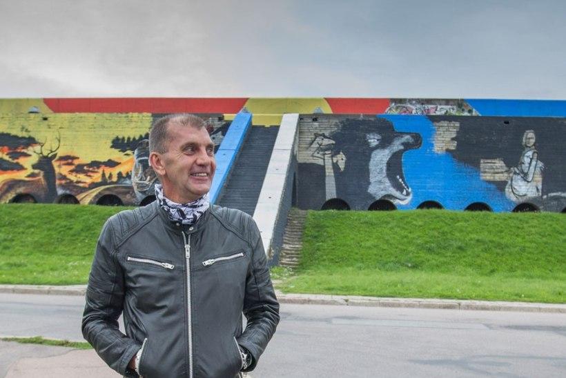 Sultsi seinamaalinguid rahastasid Tallinna linn ja Tallinna Linnahalli AS