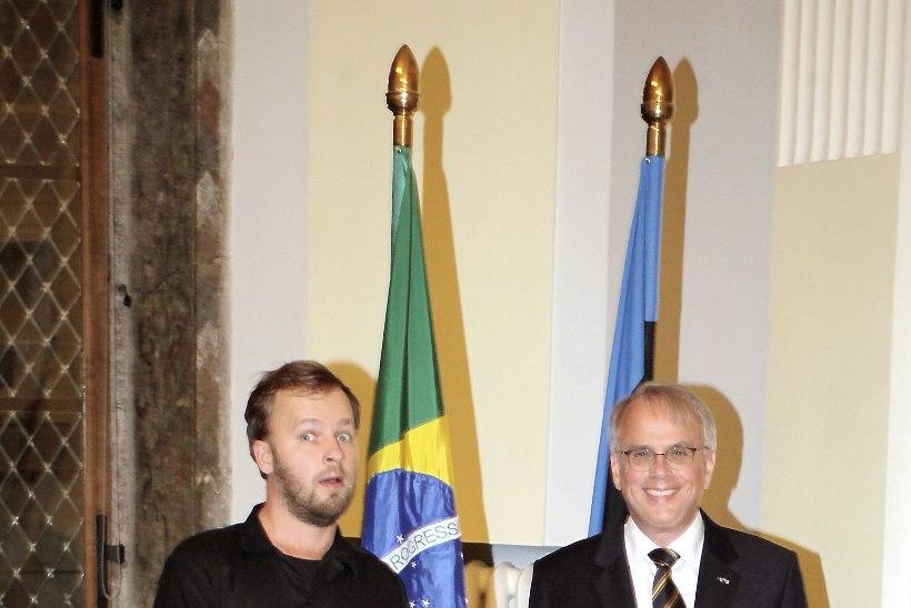PILDID | Mustpeade Majas tähistati värvikalt Brasiilia iseseisvuspäeva