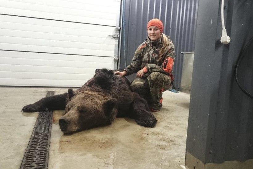 Naise jaoks oli suure karu mahalaskmine õudne kogemus