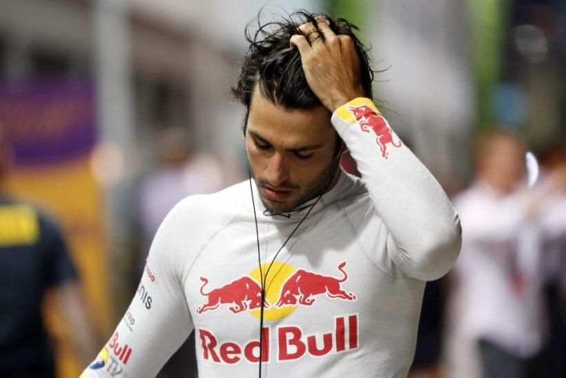 VAHVA FOTO: F1 sarjas elu parima tulemuse teinud hispaanlane tallas nii kõvasti gaasi, et pedaali tuli suur auk