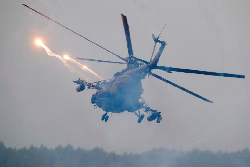 Putin külastab esmaspäeval venelaste Zapadi õppust