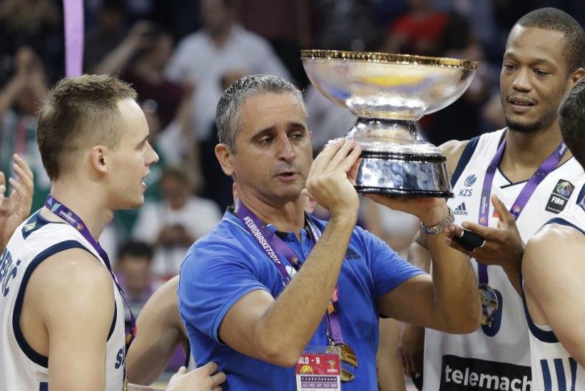 Geniaalne korvpallitreener Igor Kokoškov – üleeilsest saati Sloveenia suurim serblane