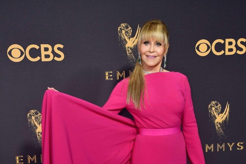 VAPUSTAV NAINE: 79aastane Jane Fonda säras Emmyde jagamisel