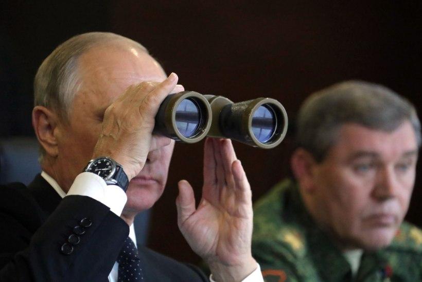 FOTOD   Putin saabus suurõppusele Zapad