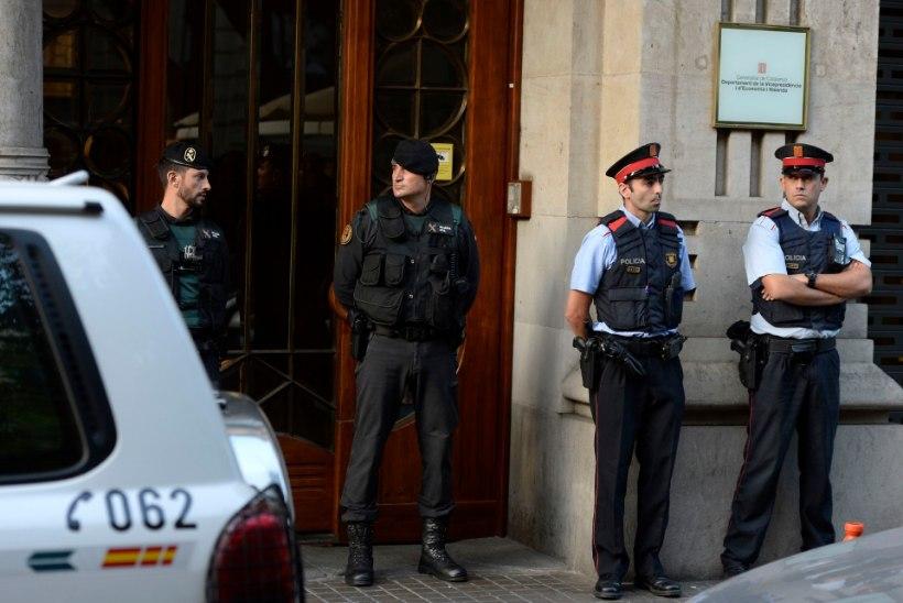 Hispaania politsei vahistas Kataloonia riigiametniku