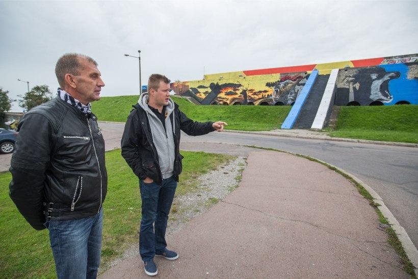 Sults soovib linnahalli maalingud säilitada renoveerimise alguseni