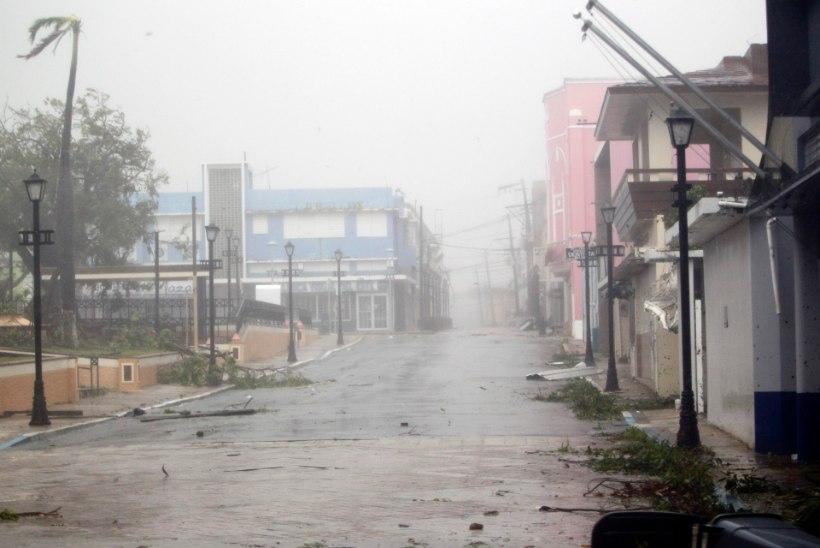 Puertoriikolased hoiavad varjendites tuju üleval lauluga