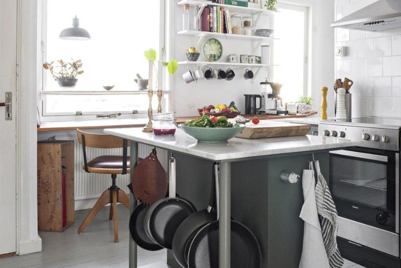 Lihtsalt ja soodsalt: päevinäinud köök saab värske ilme