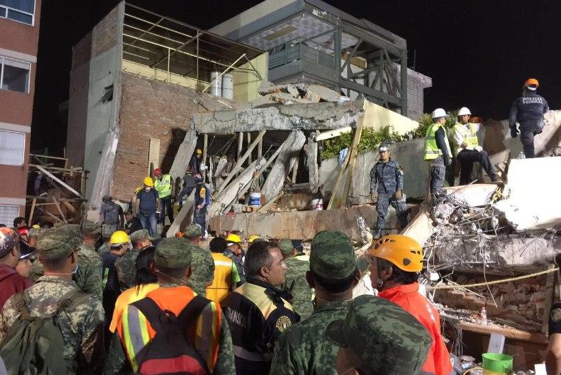 Mehhiko maavärinas hukkus mitukümmend last