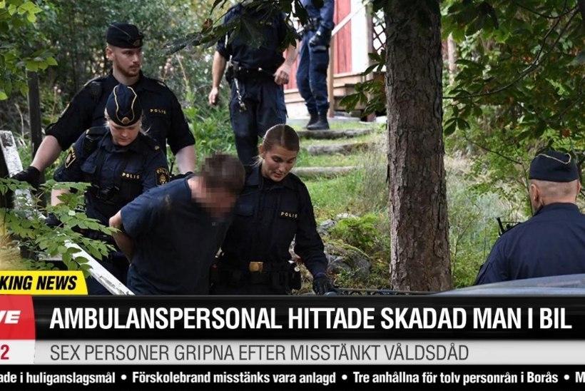 Kas Rootsis auto pagasiruumist leitud surmavalt vigastatud eestlane kukkus puu otsast alla?