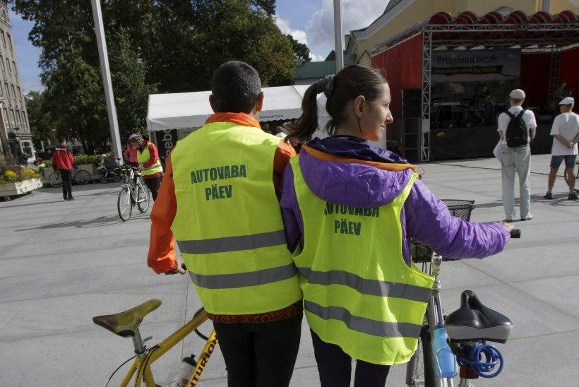 Autovaba päev korraldatakse nädalavahetusel, sest nii on vähem vingujaid ja rohkem osalejaid