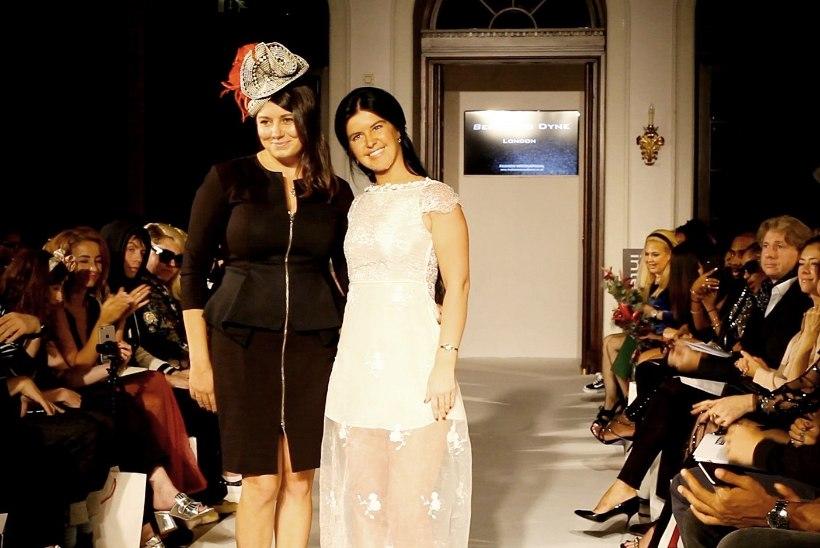 GALERII | Anna-Maria Galojan imetles Londoni moenädalal Eesti päritolu disaineri kollektsiooni