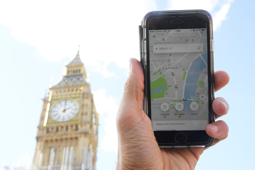 Uber kaotas Londonis tegevusloa