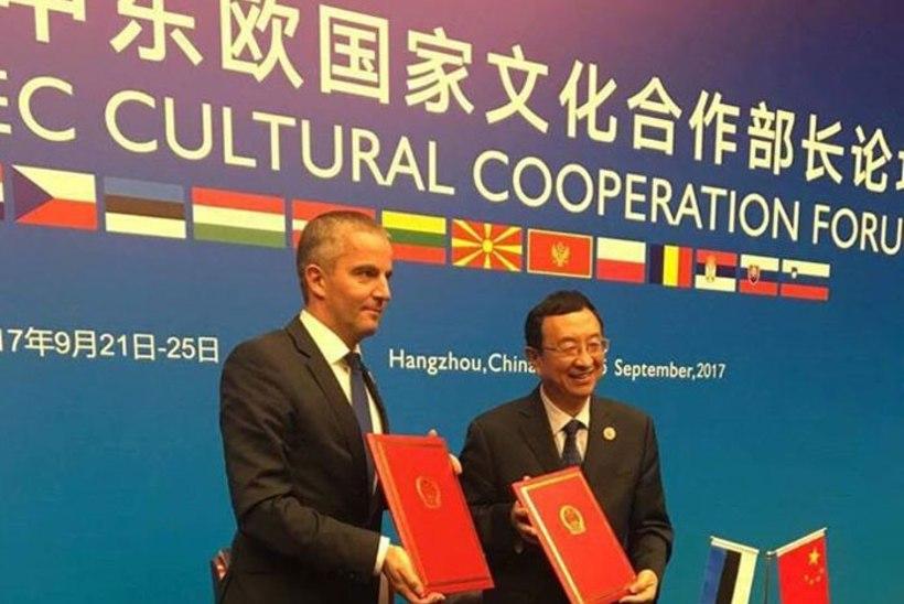 Hangzhous värskendati Eesti ja Hiina kultuurikoostööd