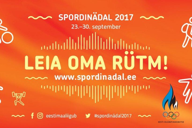 Ligi 900 üritusega Spordinädal paneb Eesti liikuma