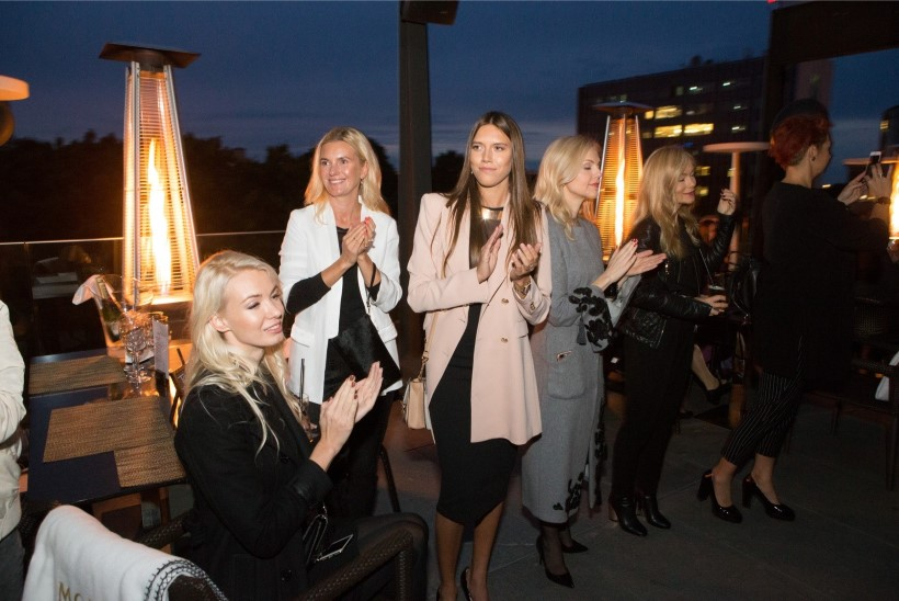 GALERII   Hilton Tallinn Park pidas glamuurse suvelõpupeo koos Tiina Talumees Couture moesõuga