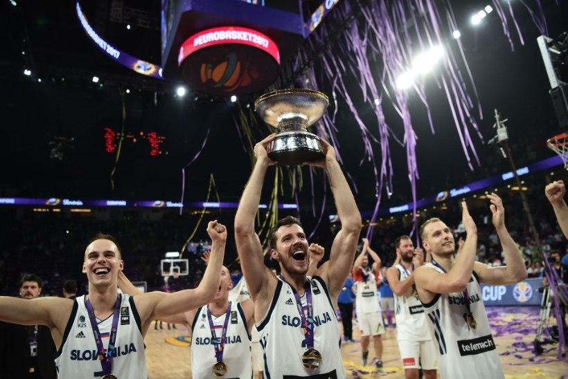 Numbrid näitavad, et Sloveenia korvpallurid jõudsid veel ühe ajaloolise tähiseni