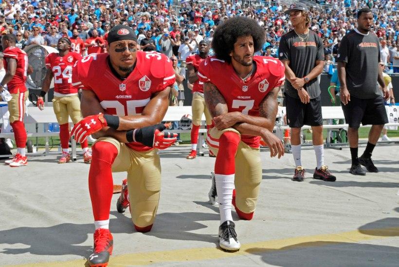 Donald Trump NFLi hümniprotestist: kõik need mängijad tuleks vallandada