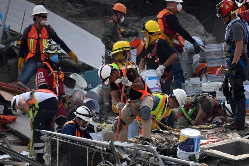 Teisipäevasest maavärinast toibuvat Mehhikot tabas uus maavärin