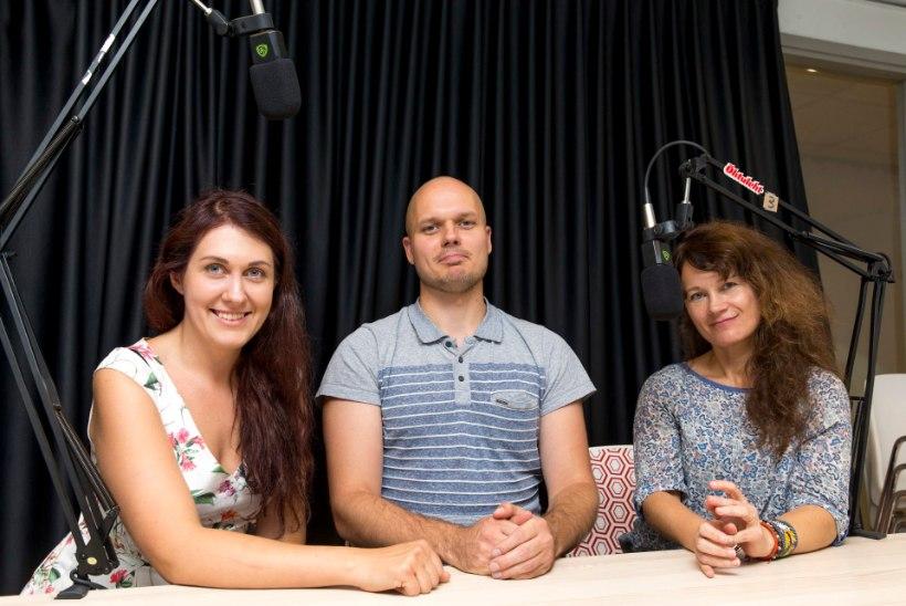 """""""TUNNEL""""   AVAMEELSELT HÜPNOOSIST: Õhtulehe uues raadiosaates olid külas hüpnotisöörid Marissa ja Siim!"""