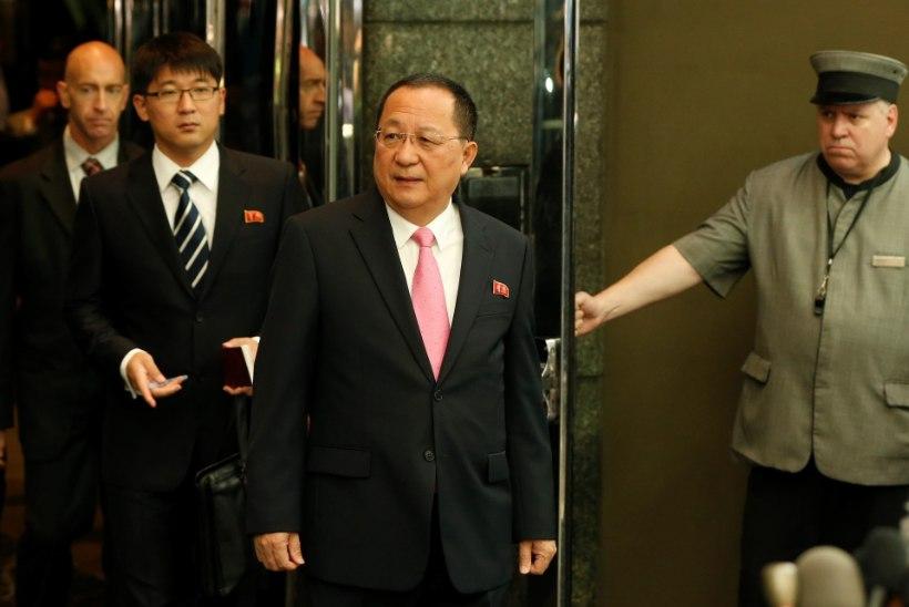 """Põhja-Korea sülgab tuld ja tõrva: """"Trump kuulutas meile sõja!"""""""