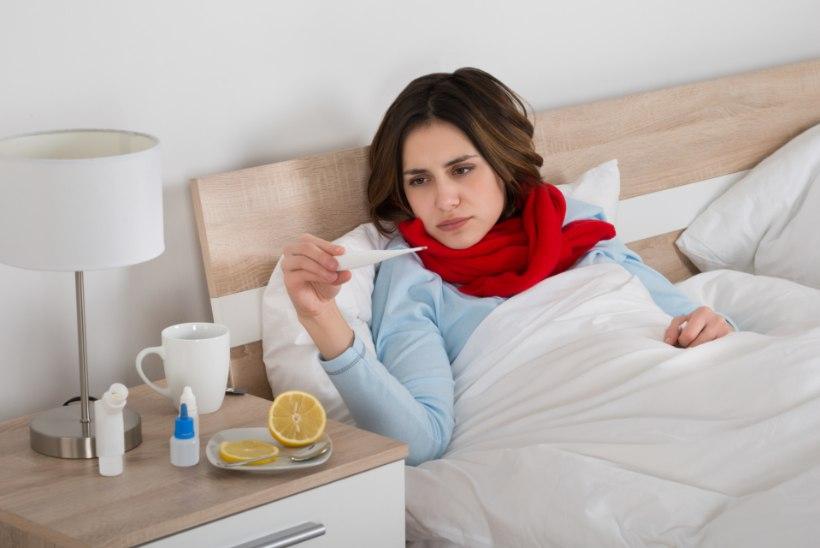 Külmetusviirused asusid sel sügisel inimesi oodatust varem murdma