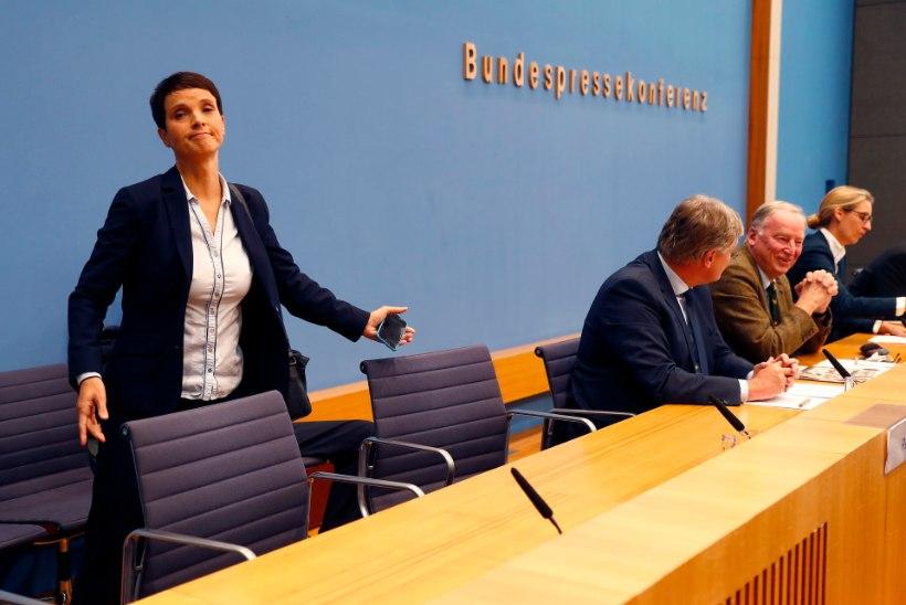 Valimised Saksamaal | Parempoolsete liider ei astu fraktsiooni ning lahkus pressikonverentsilt