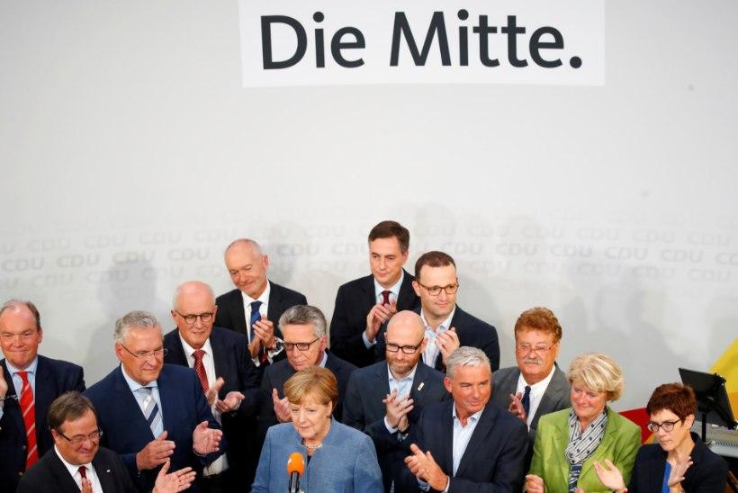 Merkel lootis Saksamaa parlamendivalimistel paremat tulemust saada